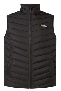 National Geographic Heren Bodywarmer No Goose black - afb. 1