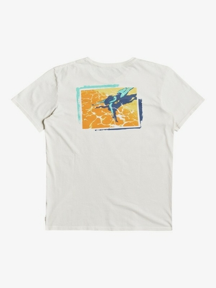 Quiksilver Lazy Sun SS Shirt White - afb. 2