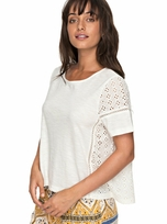 Roxy Tunic Feeling Moody White