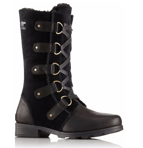 Sorel Boots Emelie Lace Black - afb. 1